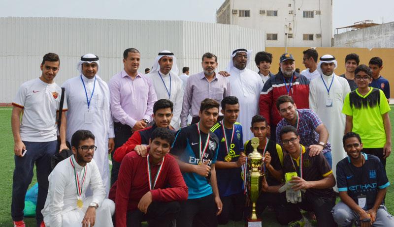 المركز الأول للتهذيب الثانوية في المسابقة الثقافية الرياضية